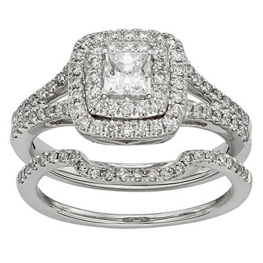 Other Fine Rings Solitaire 1.40 Ct Real Moissanite Hallmarked 14k White Gold Womens Wedding Rings