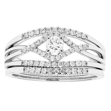.50 ct. t.w. Diamond Bridal Set in 14K Gold