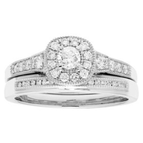 0.50 CT. T.W. Diamond Bridal Set in 14K Gold