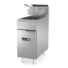 Asber Natural Gas Fryer (Select a Size)
