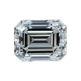 Premier Diamond Collection 1.55 CT. Emerald Cut Diamond - GIA (G, VVS2)