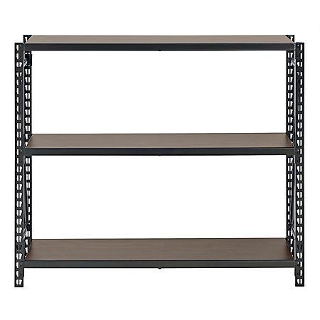 Muscle Rack 3-Shelf Metal Shelving Unit (Bronze)