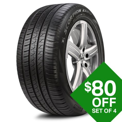 Pirelli Scorpion Zero A/S + - 295/35R21/XL 107Y Tire