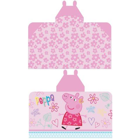 "Peppa Pig 'Fun to Explore' Reversible Hooded Towel Wrap, 28"" x 50"""