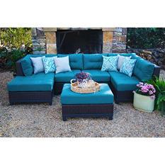 Hillborough 4-Piece Sectional, Multiple Color Choices
