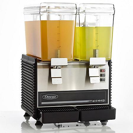 Omega Bowl Drink Dispenser, Double Bowl