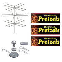 Gold Medal Humidified Cabinet Rack Kit, Small (various)