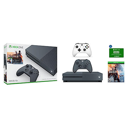 Xbox One Console with Extra Controller and Xbox Live Gold Membership