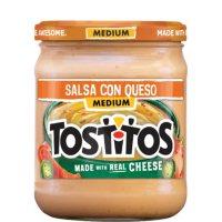 Tostitos Salsa Con Queso, Medium 15oz