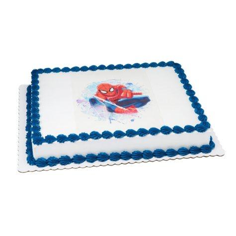 Member's Mark 1/2 Sheet Ult-Spiderman Cake