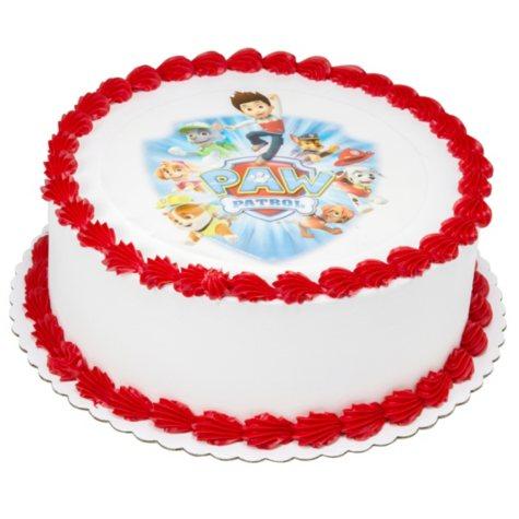 """Member's Mark 10"""" PAW Patrol Round Cake"""