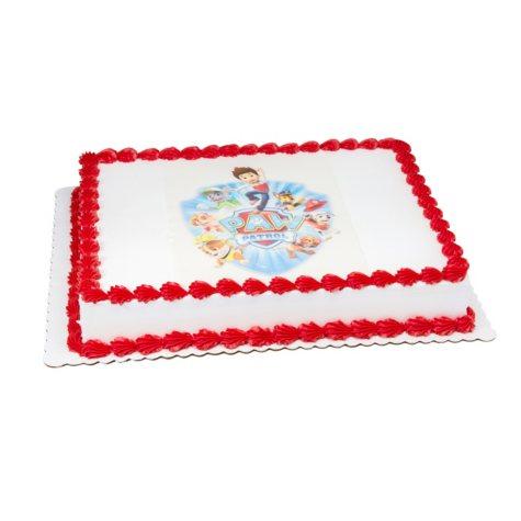 Members Mark 1 2 Sheet PAW Patrol Cake