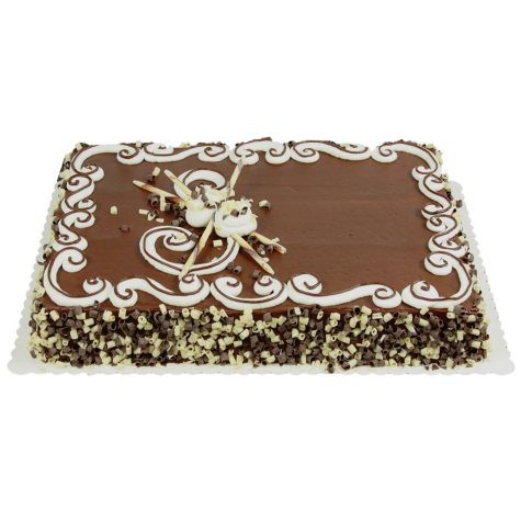 Member's Mark 1/2 Sheet Celebration Cake, Chocolate Icing