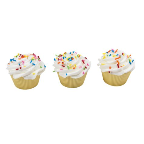 Member's Mark White Sprinkle Cupcakes (30 ct.)