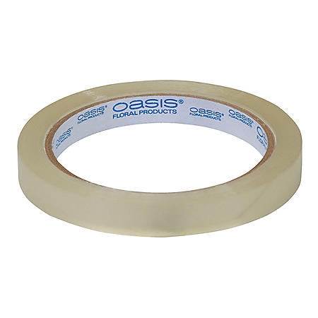 Oasis Floral Tape, Half-Inch Clear