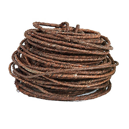 Oasis Rustic Wire, Brown, 70 Feet Per Roll (Choose 1 or 10 rolls)