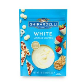 Ghirardelli White Melting Wafers (30 oz.)