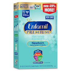 Enfamil Premium Newborn Non-GMO Powder Infant Formula (33.2 oz., 4 pk.)