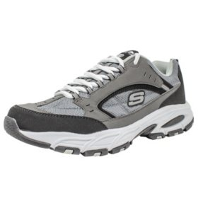 Skechers Men Outdoor Active Shoe (Charcoal) Sam's Club