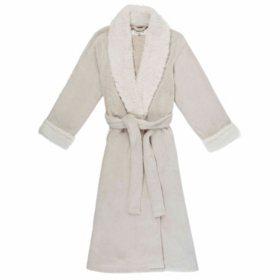 Anne Klein Women's Plush Frosted Robe