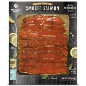 Member's Mark Smoked and Flame Roasted Norwegian Salmon Slices (10 oz.)