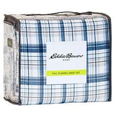 Eddie Bauer Cotton Flannel Sheet Set (Assorted Patterns)