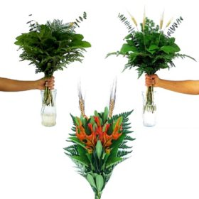 Fall Decorator Bouquet Kit, Assorted Sizes (6 pk.)
