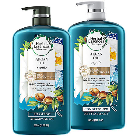 Herbal Essences Repair Shampoo & Conditioner, Argan Oil of Morocco Bundle