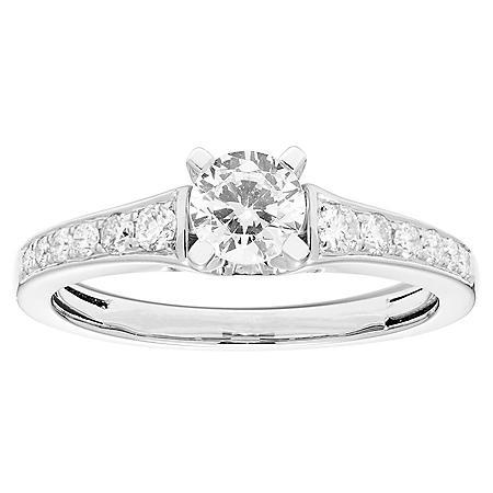 0.75 CT. T.W. Round Diamond Ring in 14K Gold
