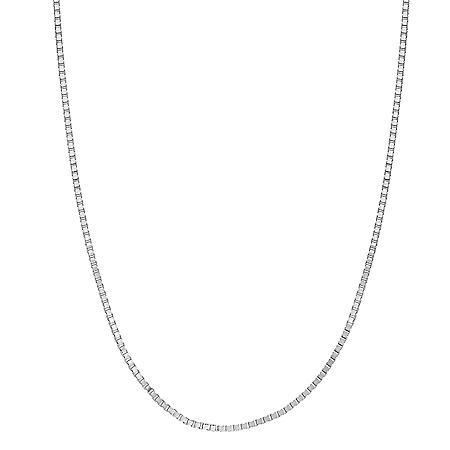 Adjustable Box Chain in 14K Gold