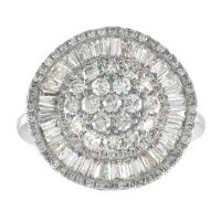 1.98 ct. t.w. Cocktail Diamond Ring in 14k Gold (HI, I1)