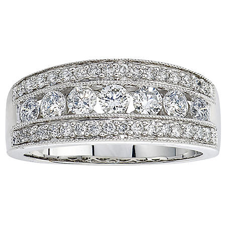 0.96 ct. t.w. Diamond Band Ring in 14k Gold (HI, I1)