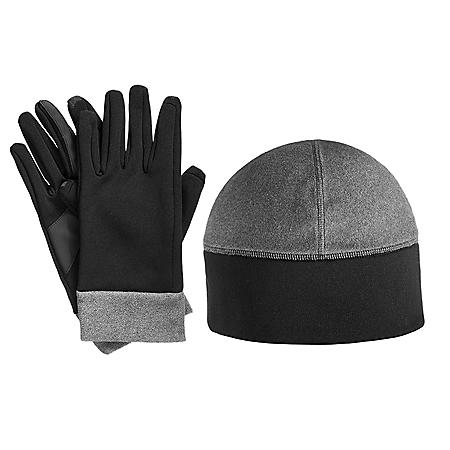0e90df102de29 Isotoner smarTouch Active Stretch Glove and Hat Set - Sam s Club