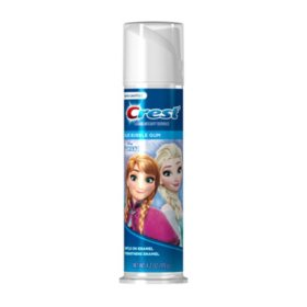 Crest Kid's Disney's Frozen Toothpaste(4 pack, 4.2 oz.)