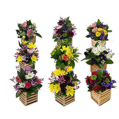 Hi There Floral Arrangements (9 ct.)