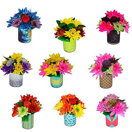 Feelings Floral Arrangements (9 ct.)