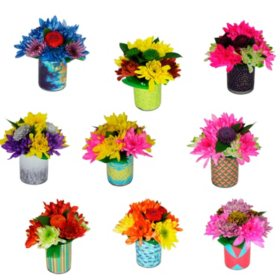 Feelings Floral Arrangements (9 ct.)