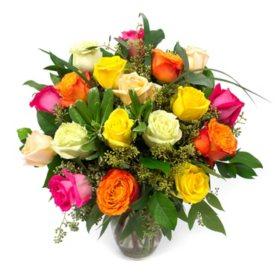 Rose Bouquet, Rainbow (Choose Stem Count)