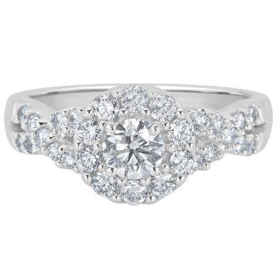Details about  /2.00 CT Round DVVS1 Diamond Engagement Horse Head Men/'s 14k White Gold Fn Ring