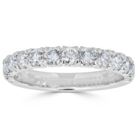 0.49 CT. T.W. 14-Stone Diamond Band Ring in 14K Gold (HI, I1)