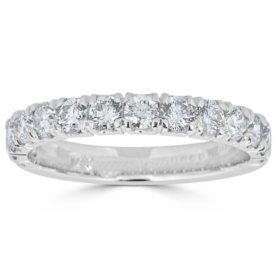 0.49 CT. T.W. 14-Stone Diamond Band Ring in 14K Gold (HI, I1)