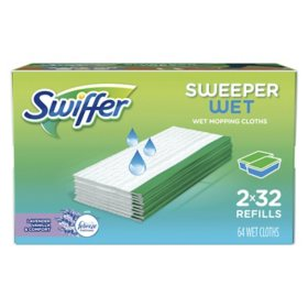 Swiffer Sweeper Wet Refills, Lavender Vanilla and Comfort (64 ct.)