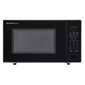 Sharp 1.1 cu. ft. Carousel Countertop Microwave Oven, 1000W (Assorted Colors)