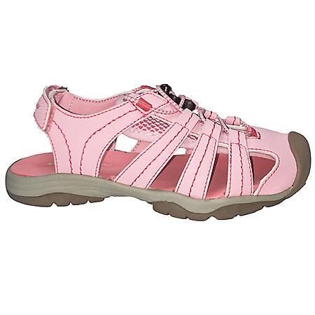 b1d2ce60e20a Eddie Bauer Girl s Size 13 Pink Bump Toe Sandal - Sam s Club