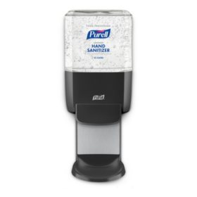 Purell Food Service Hand Sanitizer Gel ES4 Starter Kit, Graphite Push-Style Dispenser (1200ml refills, 2 ct.)