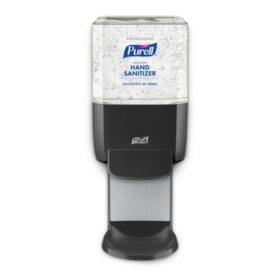 Purell Professional Hand Sanitizer Gel ES4 Starter Kit, Graphite Push-Style Dispenser (1200ml refills, 2 ct.)