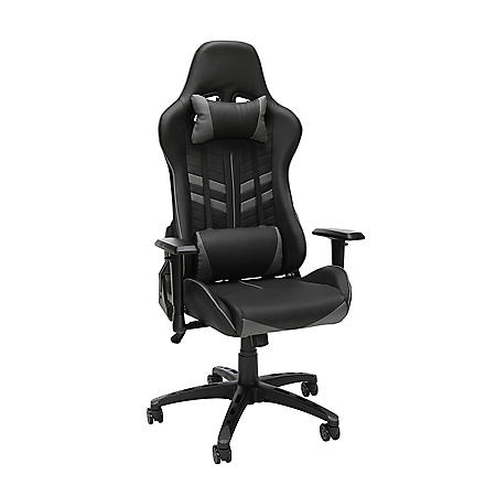 Essentials by OFM Racing Style Gaming Chair, Model ESS-6065, Choose a Color