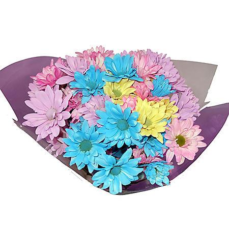 Crazy Daisy Spring Bouquets, Pastel (12 Bouquets)
