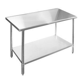 Stailess Steel Work Table NSF (Choose Your Size)