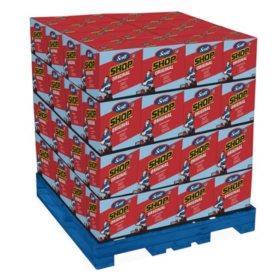 """Scott Shop Towels for Pop-Up Dispenser Box, Blue Sheets Pallet (10"""" x 12"""", 128 Cases)"""